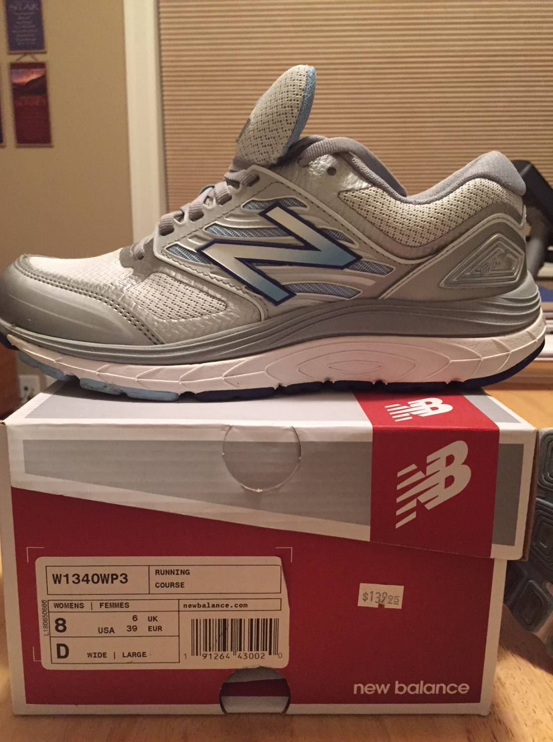 Shoes New Balance to get rid of 2018-0805 with box