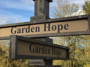 Cemetery garden of hope